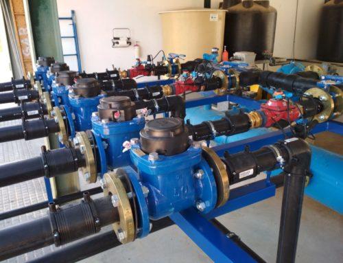 La planta piloto de la Comunidad de Regantes de Tintín ya está lista para ser usada en la campaña de riego en 635 hectáreas dedicadas a olivar